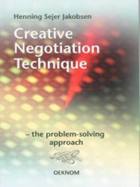 Creative Negotiation Technique